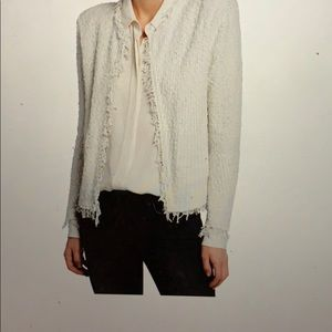 NWT IRO Paris Shavani open from Boucle jacket